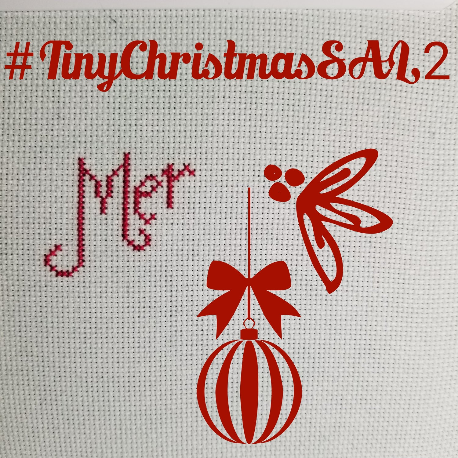 Image of Tiny Christmas StitchAlong 2