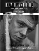 Image of KEVIN MCGUIRE @BROADCAST, GLASGOW 28.Feb.19