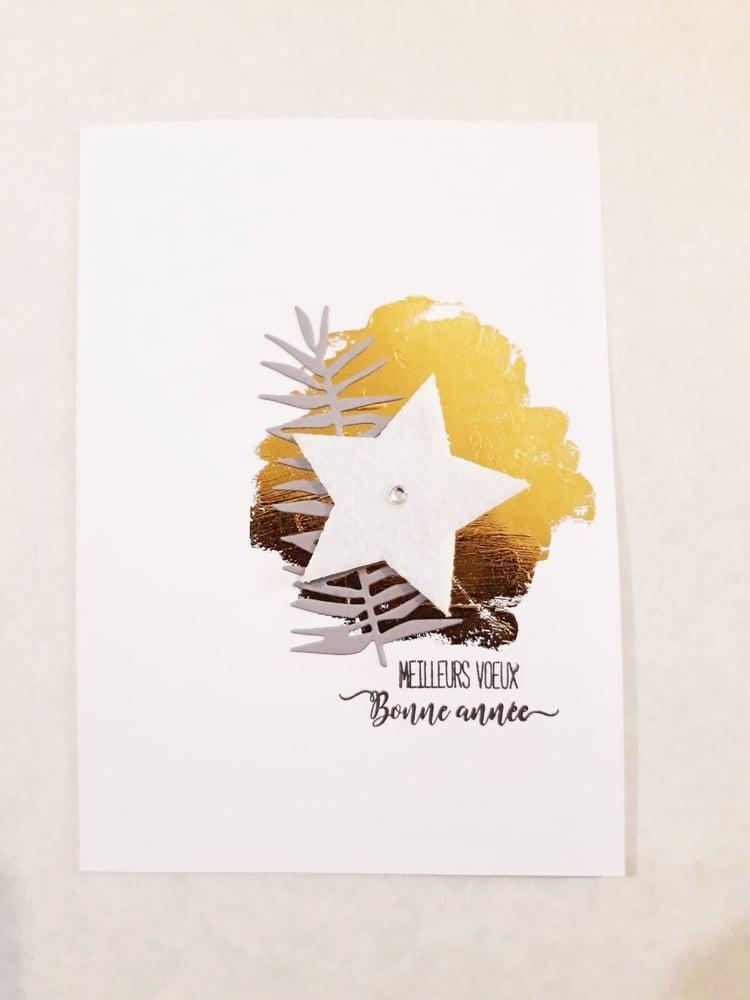 """Image of Carte de voeux """"bonne année"""" n°05"""