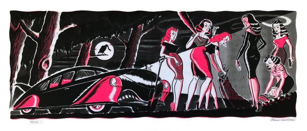 Image of Ryan Heshka - Mean Girls Club: Original Six