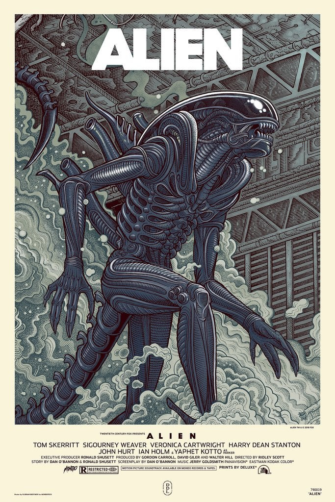 "Image of ""Alien"" - Variant Remarque Edition - *hand embellished*"