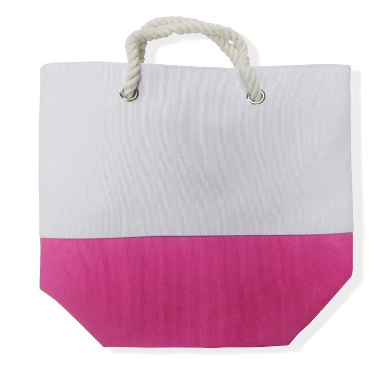 Image of Color Block Tote 2
