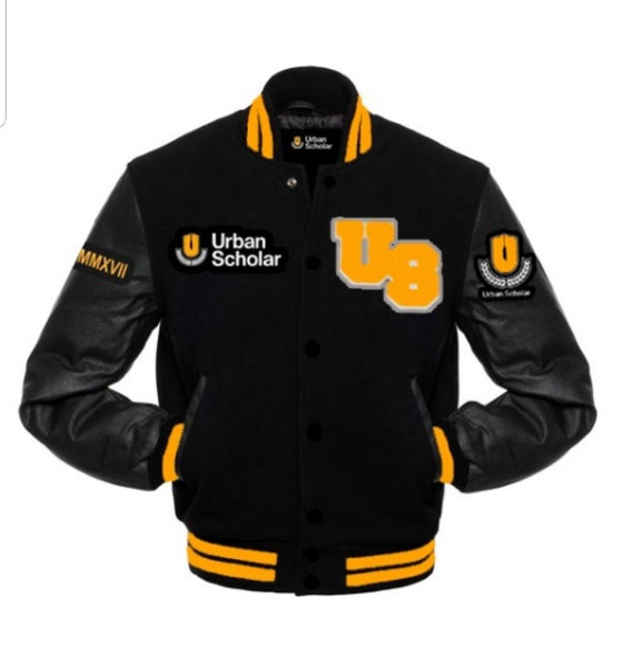 Image of Icon logo Varsity Jacket- Pre-order