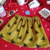 Children's Bee Corduroy Skirt