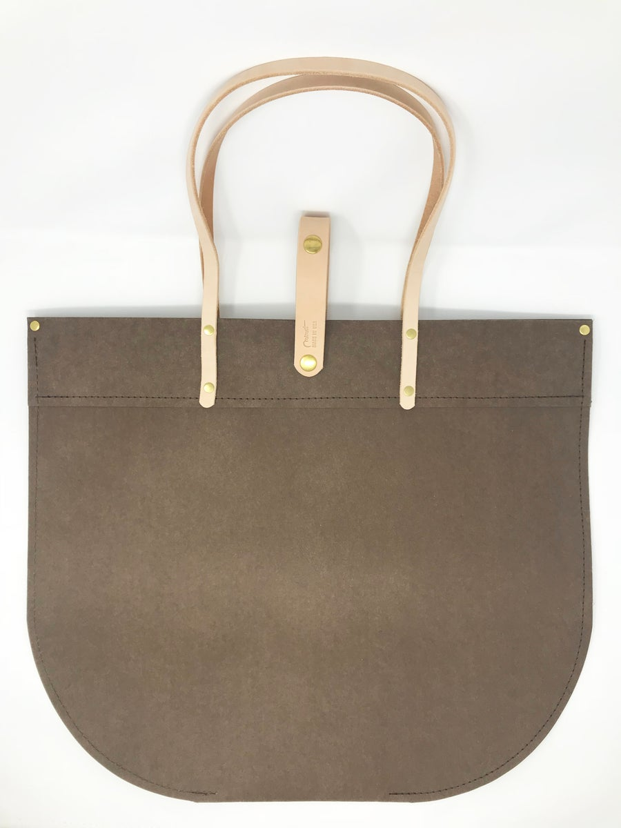 Image of Gift Tote, Dark Brown