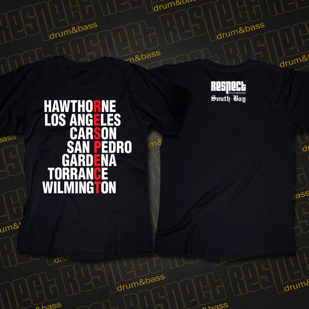 Image of RESPECT South Bay NEIGHBORHOODZ Tee
