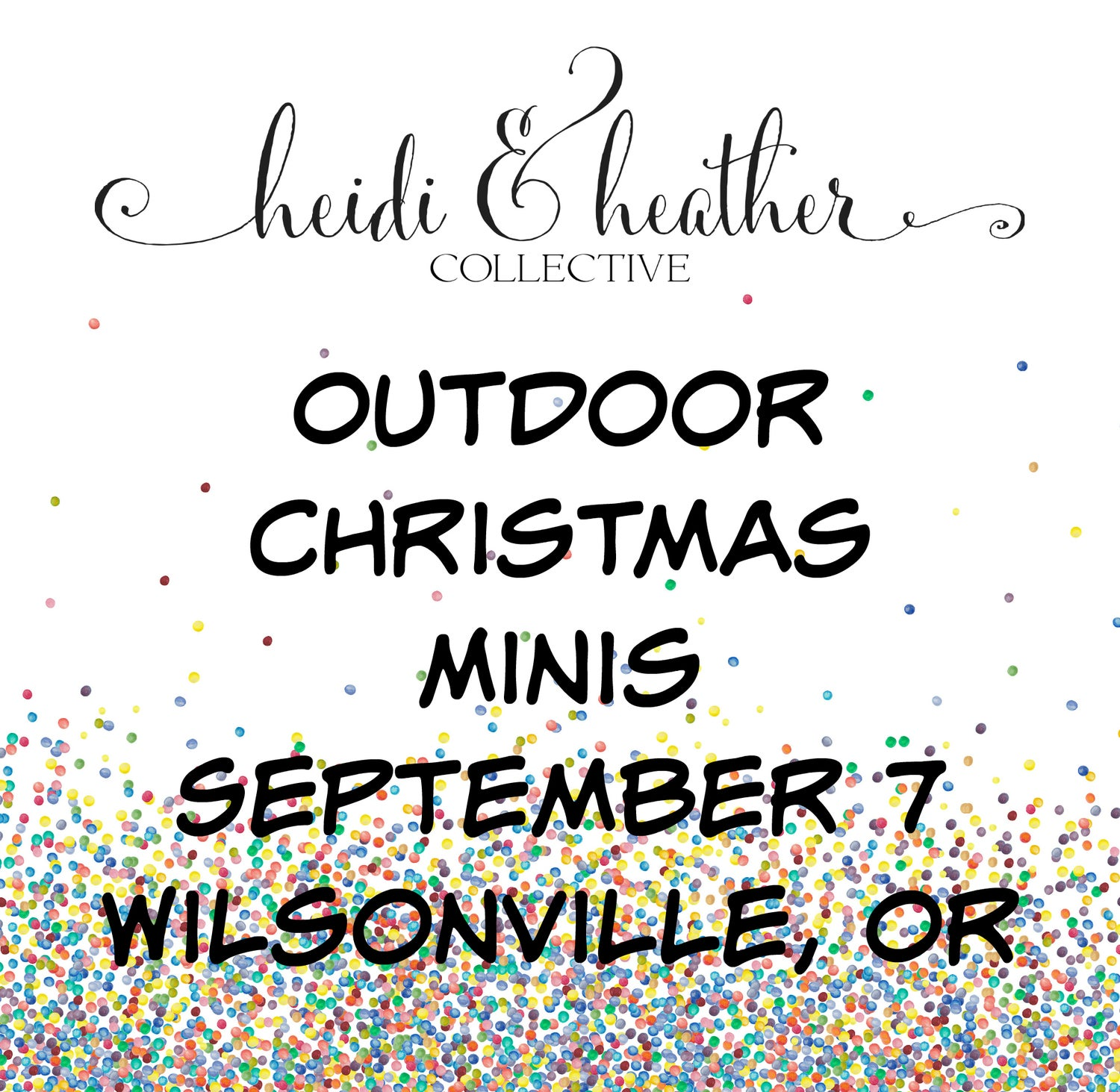 Image of Outdoor Christmas Minis, September 7th, 2019