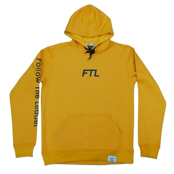 Image of FTL Classic Hooded Sweatshirt (Gold)