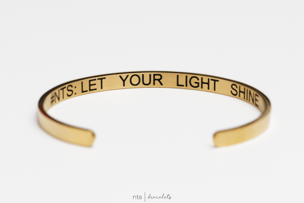 Image of #NTS: LET YOUR LIGHT SHINE (Limited Edition + Gold)