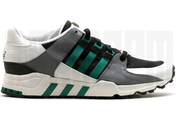 "Image of Adidas EQUIPMENT RUNNING SUPPORT ""EQT"" BLACK"