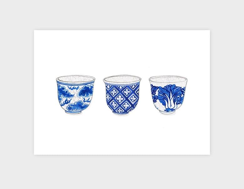 Image of Three Tea Cups