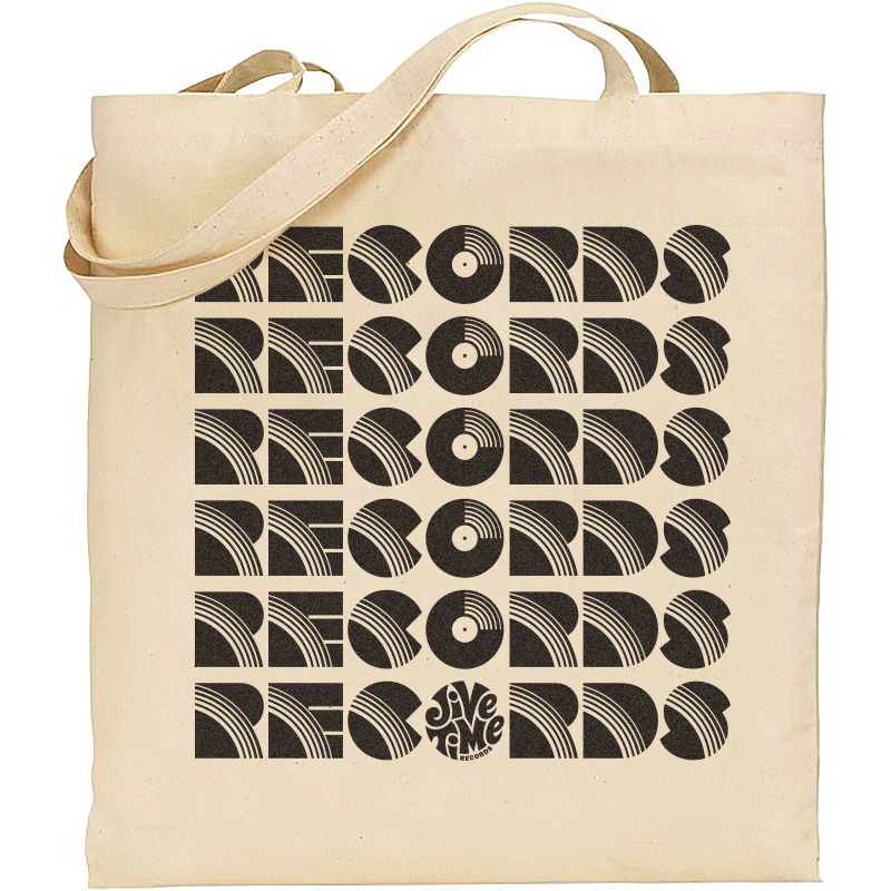Image of Records Records Records Tote