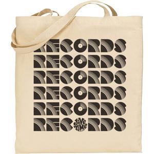 Image of Records Records Records Tote
