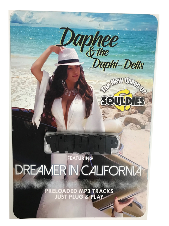 Image of DAPHEE & THE DAPHI- DELLS PRE-LOADED MUSIC USB