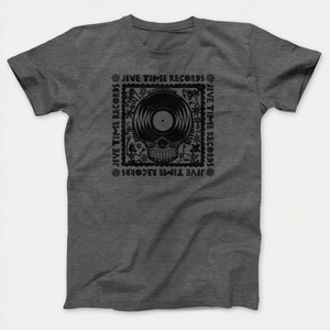 Image of Record-Skull Tee