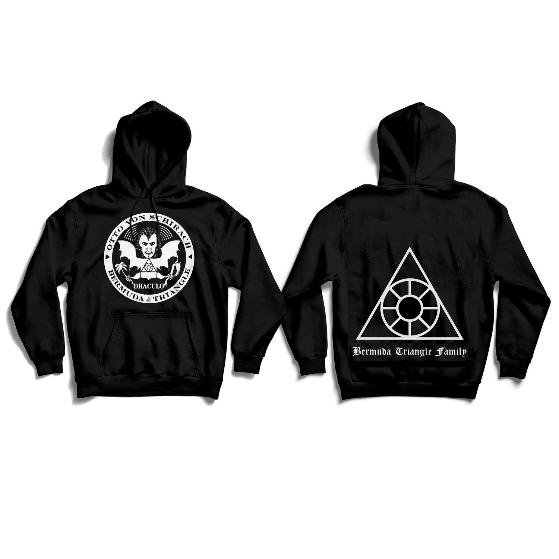 Image of Draculo logo hoodie