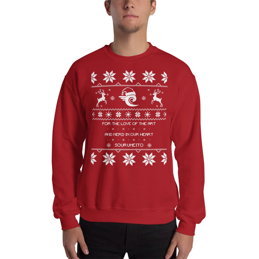 Image of Sourumeito Christmas Sweater (RED)