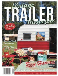 Image of Issue 40 Vintage Trailer Magazine