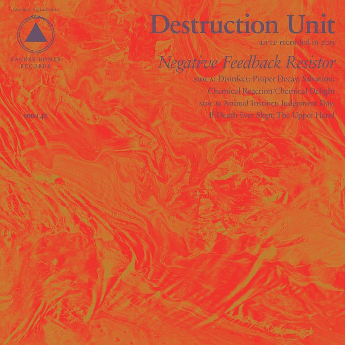 "Image of Destruction Unit ""Negative Feedback Resistor"" CD"