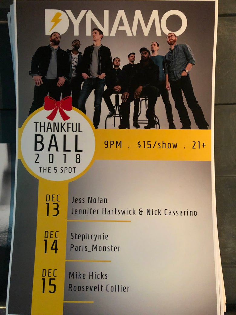 Image of Thankful Ball Poster