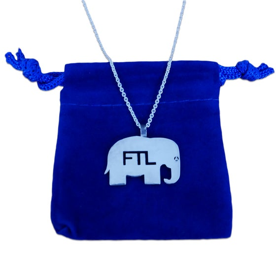 Image of FTL Elephant Necklace