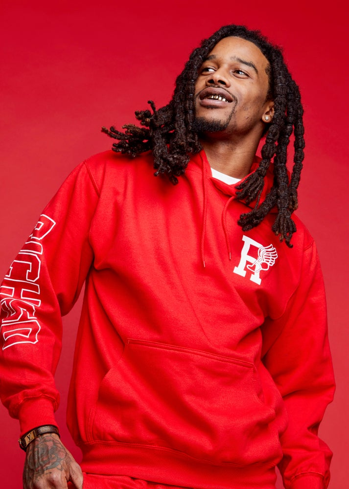 Image of R-Wing Jogging Suit (Red)