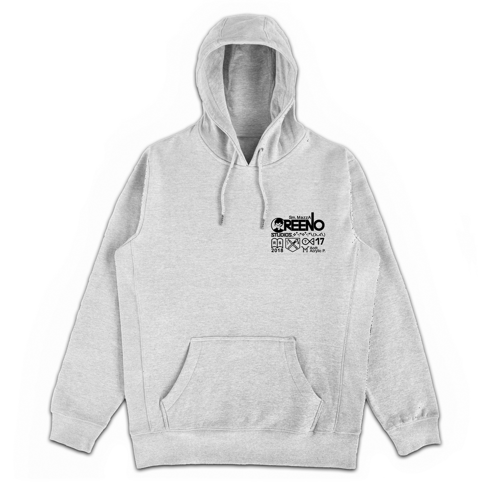 Image of ANYBODY COULD DO THIS HOODIE, HEATHER GREY
