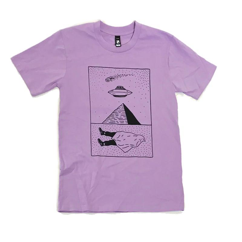 "Image of ""U.F.O.M.G. 2"" - Unisex Lavender Tee"