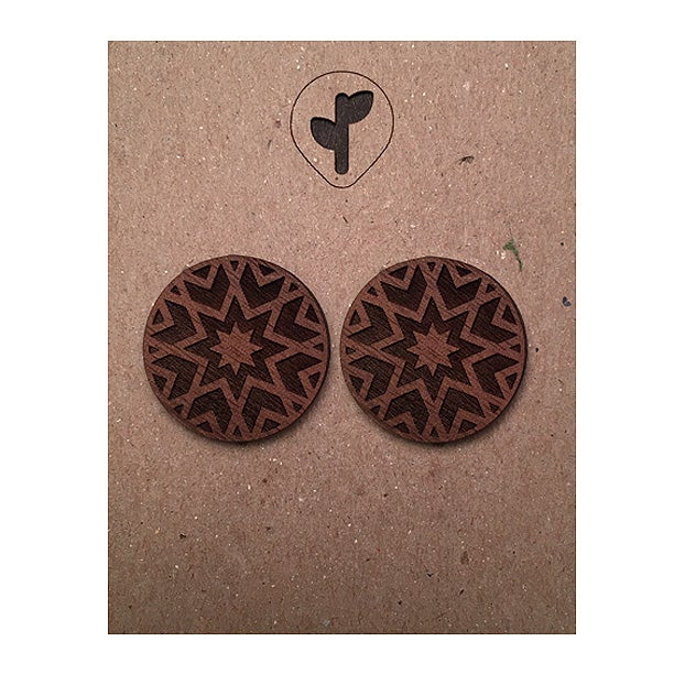 Image of citlali / stud / walnut