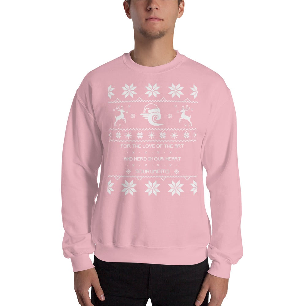 Image of Sourumeito Christmas Sweater (PINK)