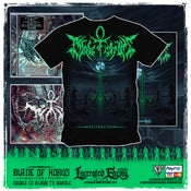 Image of BLADE OF HORUS - Obliteration album TS + Double CD bundle