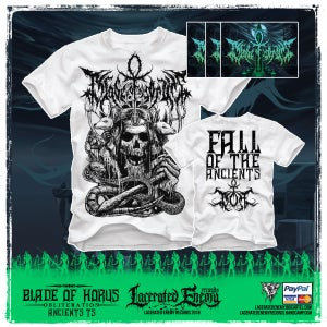 Image of BLADE OF HORUS - Fall of the Ancients Tshirt