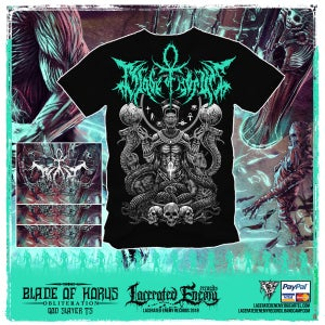 Image of BLADE OF HORUS - God Slayer Tshirt