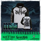 Image of BLADE OF HORUS - Fall of the Ancients BASEBALL HOODIE