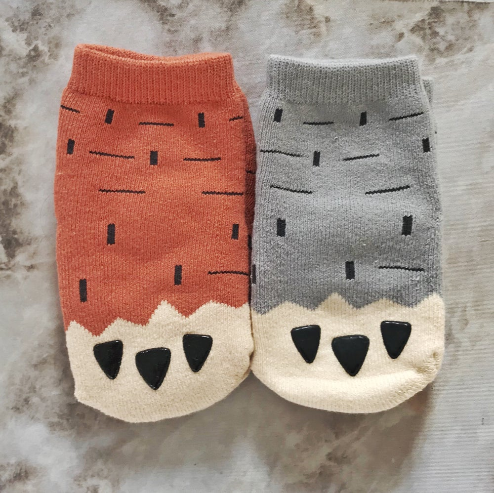Image of Cuddly Paw socks