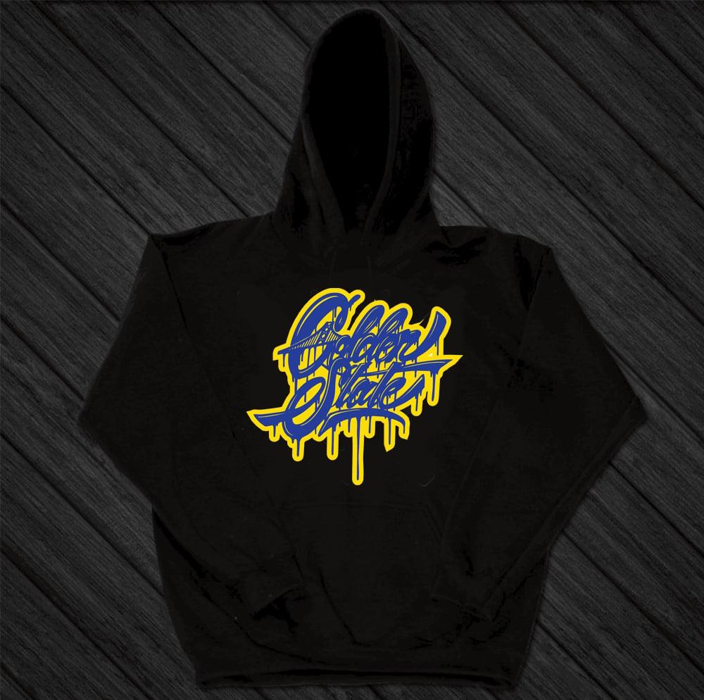 Image of Golden Drip hoodie