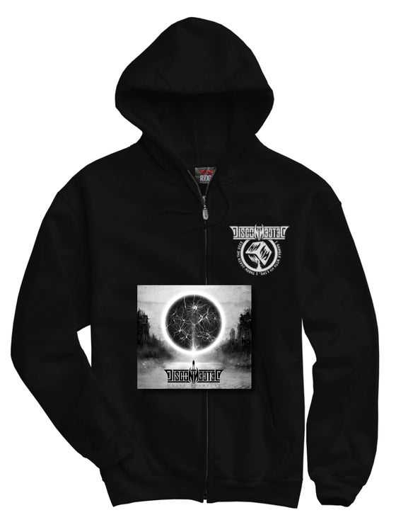 "Image of Pack Cd signed + Hoodie ""White Colossus tour 2018"""