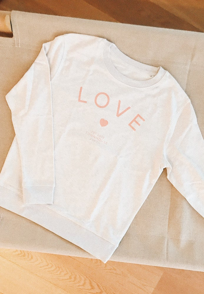 Image of Love Sweatshirt Rosé