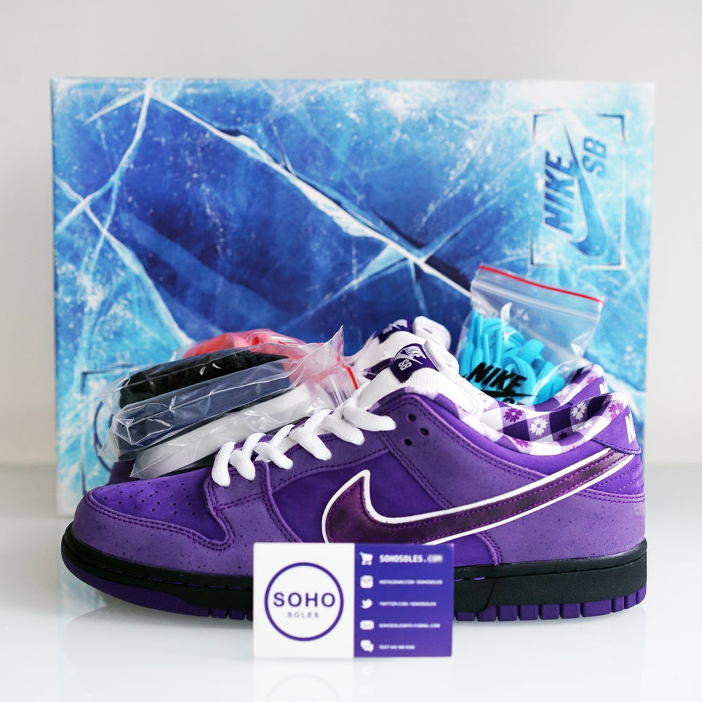 separation shoes 2f4c5 2f62d Image of Nike SB Dunk Low Concepts Purple Lobster (Special Packaging) ...
