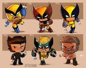 Image of Evolution of Wolverine