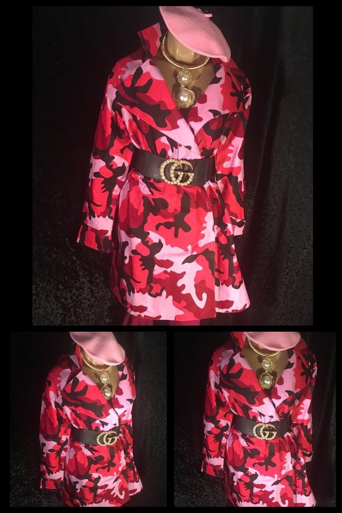 Image of Pink Camo jacket