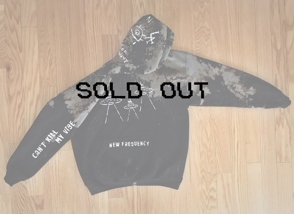 Image of NEW FREQUENCY - LIMITED EDITION HOODIE