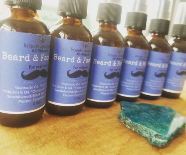 Image of 2 oz. Real Man's BEARD and FACE Oil