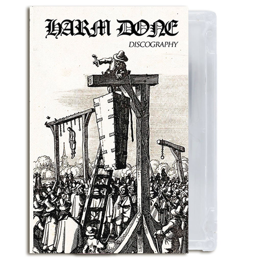 "Image of Harm Done ""Discography"" Tape"