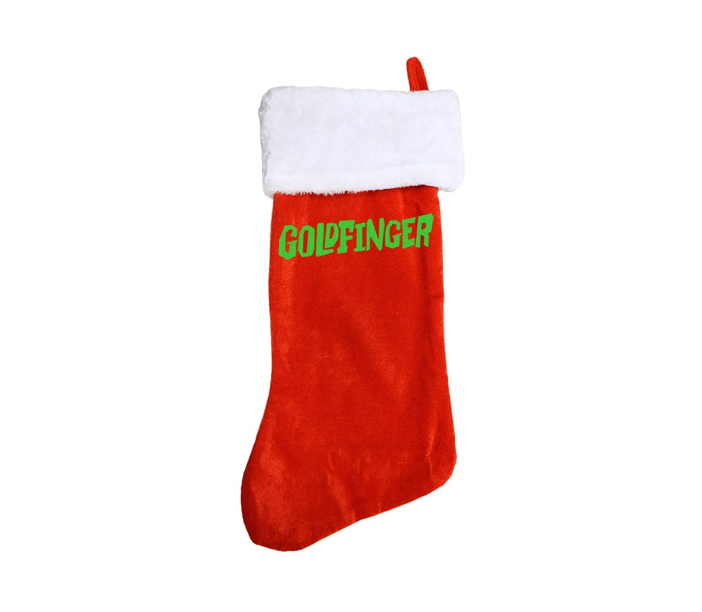 Image of Limited Edition Embroidered Logo Holiday Stocking