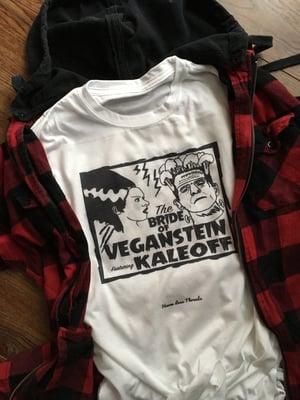 Image of The Bride of Veganstein ( Frankenstein ) Unisex tshirt