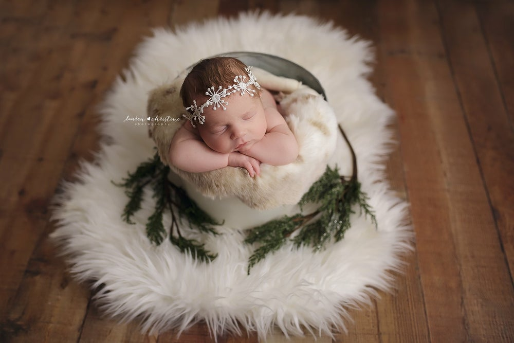 Image of Snowflakes headband