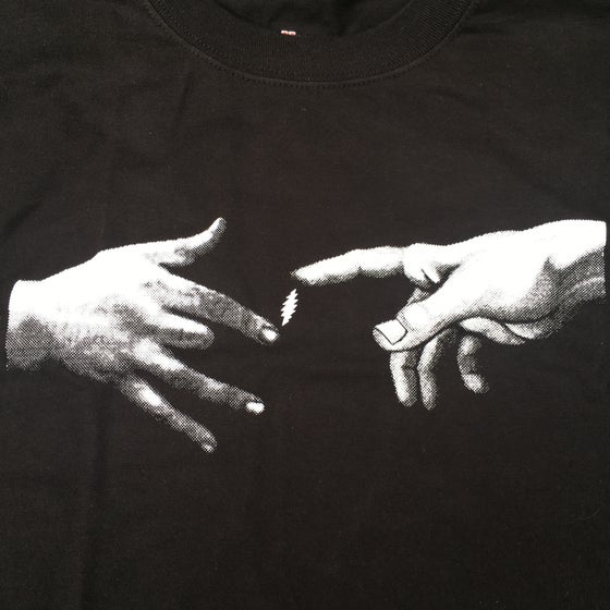 Image of Jerry & Hand of God Tee - Black