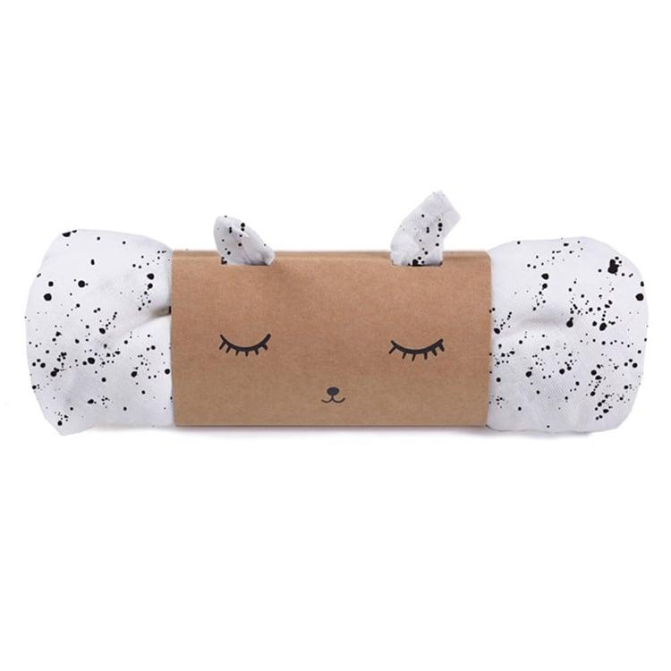 Image of Wee Gallery Organic Muslin Swaddle Blanket - Splatter