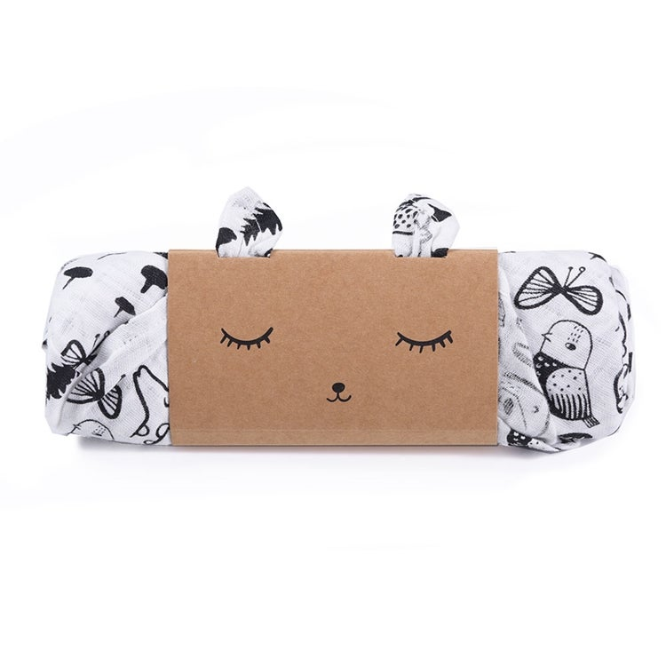 Image of Wee Gallery Muslin Swaddle - Wild